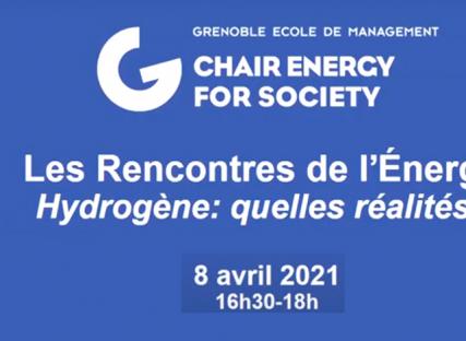 Replay des Rencontres de l'Energie 2021 en salle Hyflex dans les locaux de Grenoble EM.